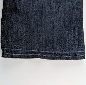 Chico's Jeans - Chicos Black Platinum Jeans Slacks Flat Front